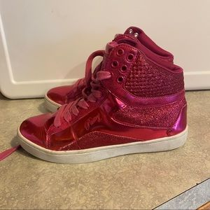 Pastry Girls Glam Pie High Top Sneakers 5.5